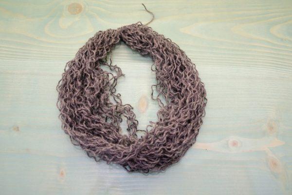 Unraveled yarn hank