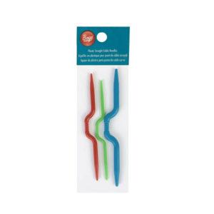 Plastic Cable Needles set, straight-Boye   The Knitting Club