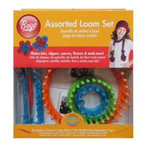 Assorted Loom Set-Boye   The Knitting Club