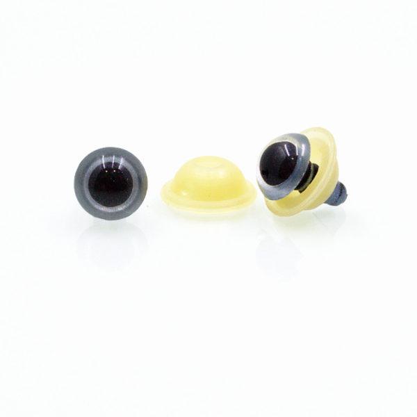 Μάτια ασφαλείας χρωματιστά - στρογγυλά ημισφαίρια | The Knitting Club