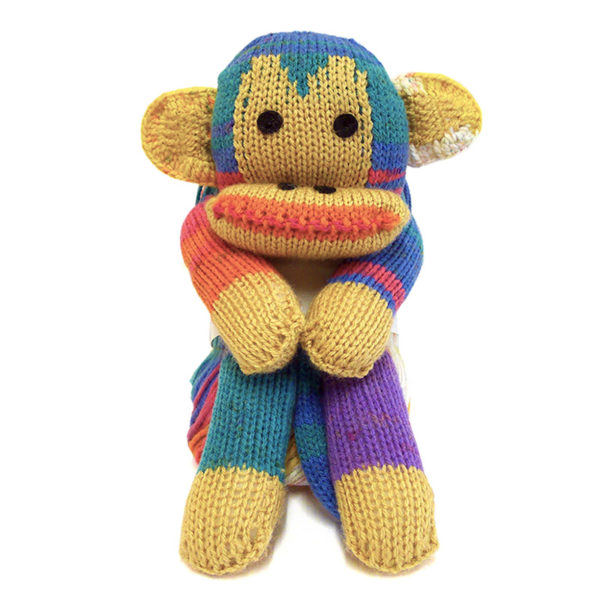 Wendy Four Legged Friends - Monkey | The Knitting Club