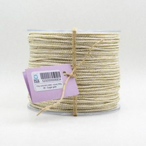 Poly cord mini metal - κώνος 200g | The Knitting Club
