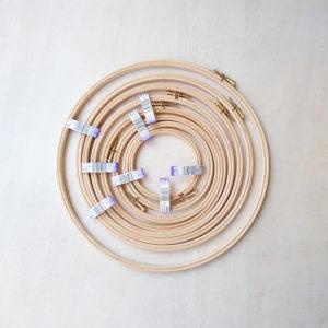 Elbesee - Τελάρο κεντήματος ξύλινο (UK) | The Knitting Club