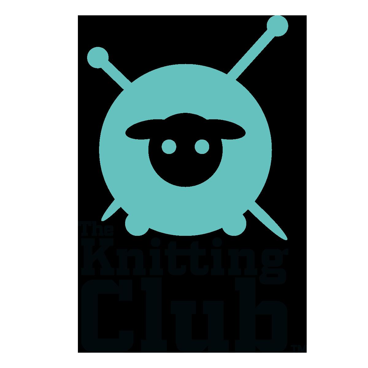 Knitting Club Logo : Κέντημα the knitting club