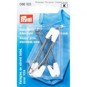 Παραμάνες ασφαλείας βρεφικές, 55mm - Prym | The Knitting Club