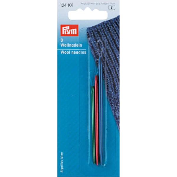 Βελόνες μονταρίσματος πλεκτού, αλουμινίου, σετ των 3 - Prym   The Knitting Club