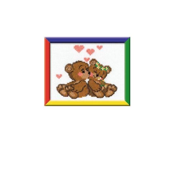 Riolis - Μικρά Αρκουδάκια - HB053 | The Knitting Club
