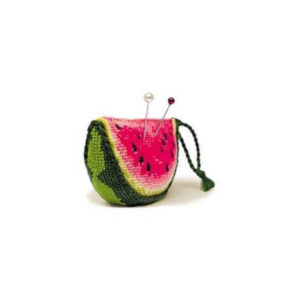 Riolis - Watermelon Pincushion - 866 | The Knitting Club