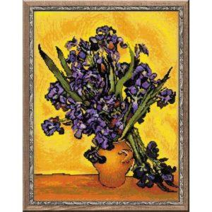 Riolis - Ίριδες του Βίνσεντ βαν Γκογκ - 1087 | The Knitting Club