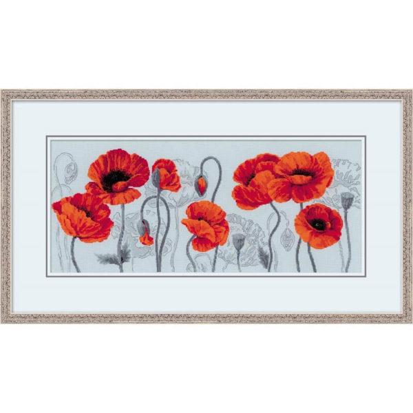 Riolis - Κόκκινες Παπαρούνες - 100/037 | The Knitting Club
