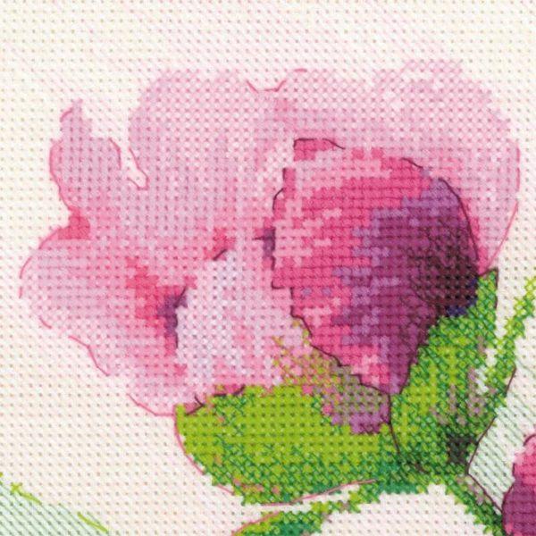 Riolis - Ροζ Παιώνιες - 100/039 | The Knitting Club