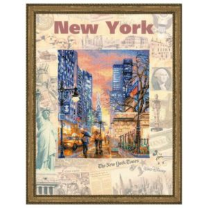 Riolis - Cities of the World. New York - 0025 PT | The Knitting Club