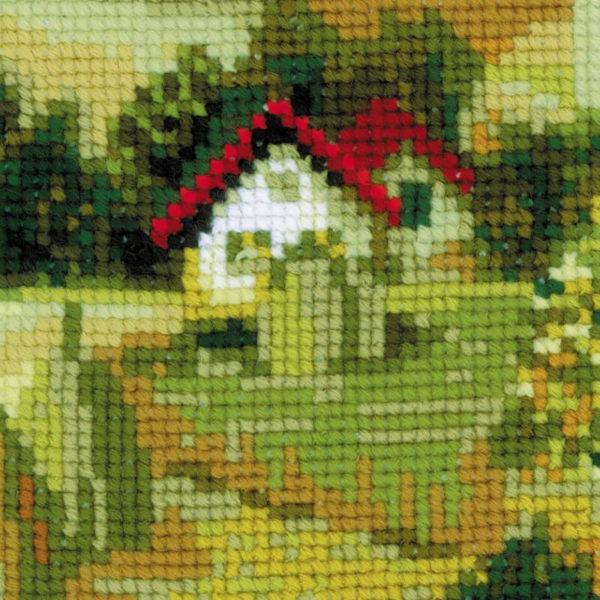 Riolis - Τοπίο στην Σερβία - 1569   The Knitting Club