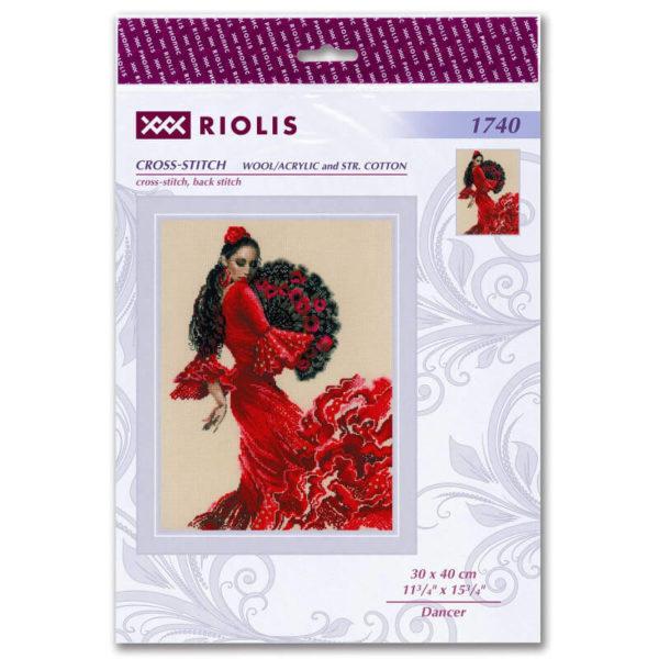 Riolis - Χορεύτρια Φλαμένκο - 1740   The Knitting Club