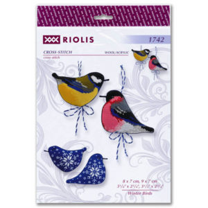 Riolis - Winter Birds - 1742 | The Knitting Club