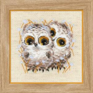 Riolis - Κουκουβάγιες - 1755 | The Knitting Club
