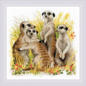 Riolis - Meerkats - 1761 | The Knitting Club