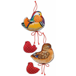 Riolis - Mandarin Ducks - 1769 | The Knitting Club