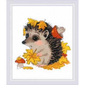 Riolis - The Leaf Gatherer - 1882 | The Knitting Club