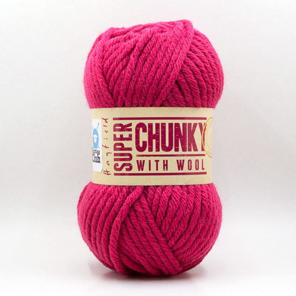 Hayfield Super Chunky with wool | The Knitting Club