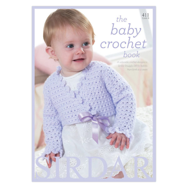 The Baby Crochet Book - 411 | The Knitting Club