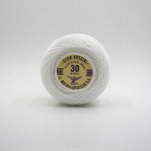 Αετός Stor Special Δαντελόνημα Πελότα 30/2x3 (Ε,Λ) | The Knitting Club