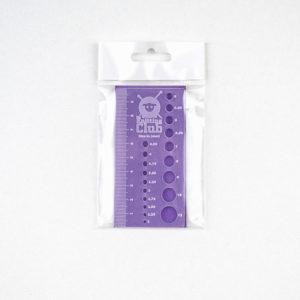 Μεγεθοδείκτης βελόνων-μετρητής δείγματος TKC   The Knitting Club