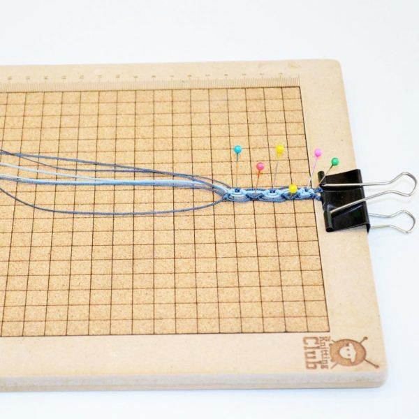 Πίνακας μακραμέ-χειροτεχνίας TKC | The Knitting Club