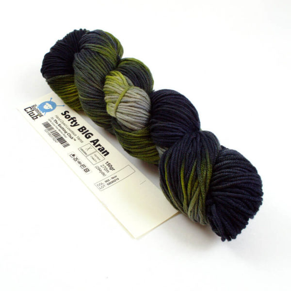 TKC - Softy BIG Aran - Hand-dyed   The Knitting Club