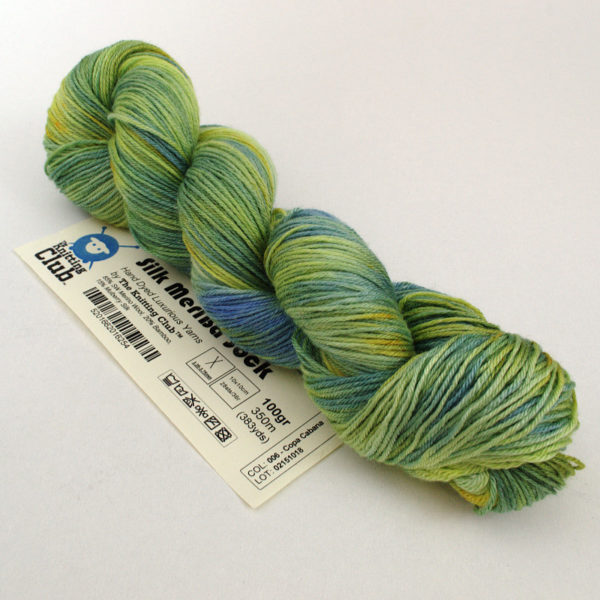 TKC - Silk MeriBa Sock - Hand-dyed | The Knitting Club
