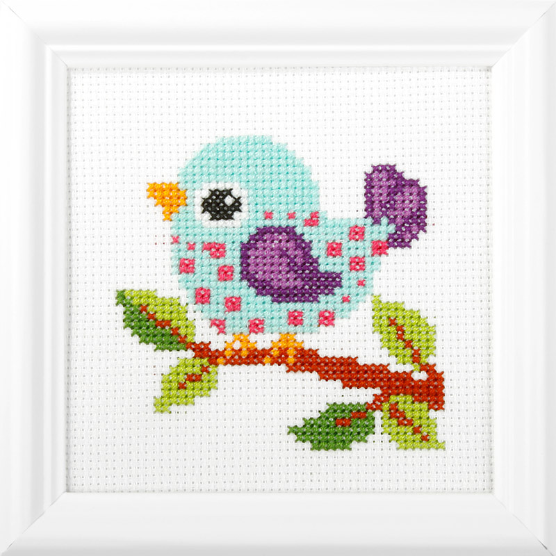 Orchidea|Embroidery kit | The Knitting Club