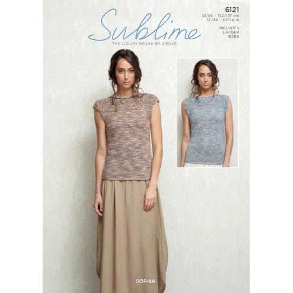 Γυναικεία μπλουζάκια, με Sublime Sophia - 6121   The Knitting Club