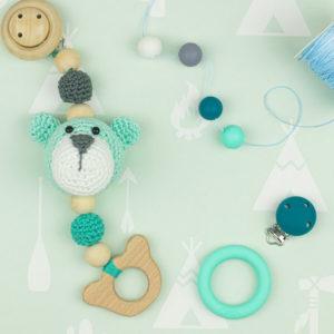 Opry - Κλιπ πιπίλας σιλικόνης | The Knitting Club