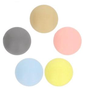 Opry - Χάντρες σιλικόνης χρωματιστές - Σετ των 5 | The Knitting Club