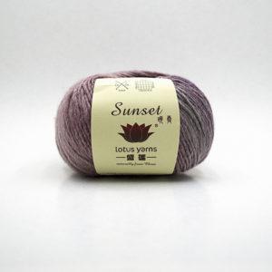 Lotus Sunset | The Knitting Club