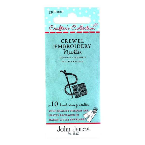 John James Needles - Βελόνες κεντήματος για μαλλί - Νο 18/22 | The Knitting Club