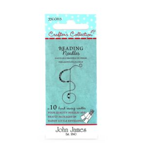 John James Needles - Beading Needles - Size 10/12 | The Knitting Club