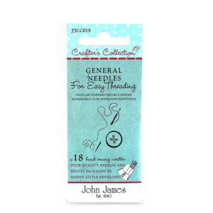 John James Needles - Large Eye/Easy Threading Needles - Size Asst. | The Knitting Club