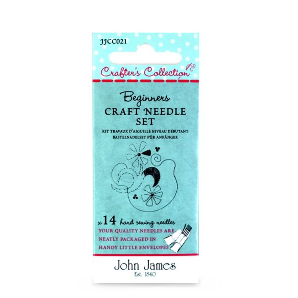 John James Needles - Beginners Craft Needle Set Asst. | The Knitting Club