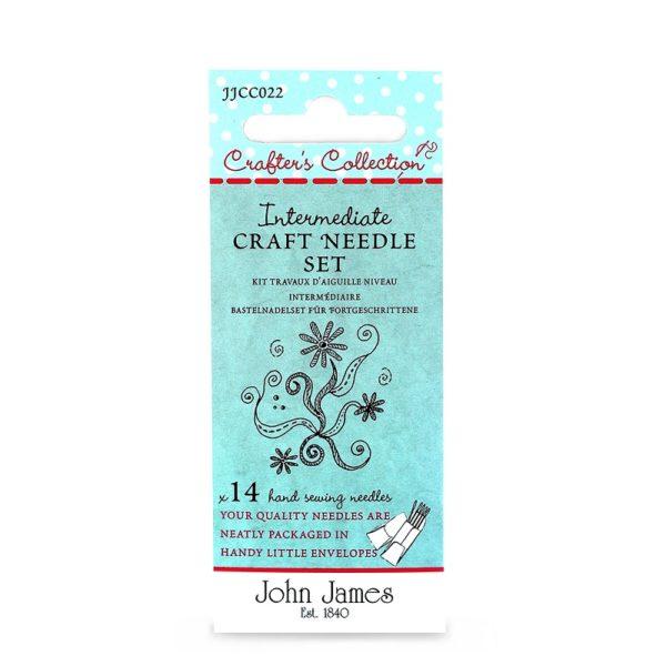 John James Needles - Intermediate Craft Needle Set Asst. | The Knitting Club