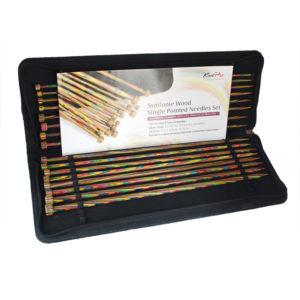 Σετ ίσιες βελόνες 35cm KnitPro-Symfonie | The Knitting Club