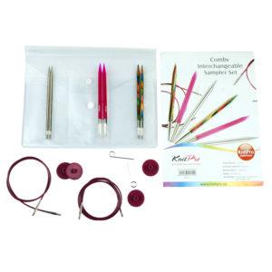 Σετ εναλλάξιμες βελόνες KnitPro-Comby Sampler Set I   The Knitting Club