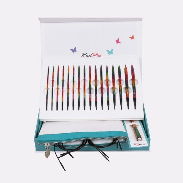 Σετ εναλλάξιμες βελόνες KnitPro-Colours of Life Gift Set | The Knitting Club
