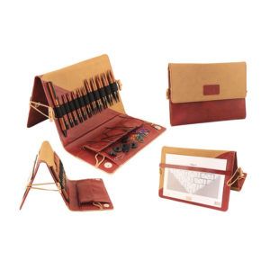 Special interchangeable needles KnitPro-Deluxe Set-Ginger | The Knitting Club