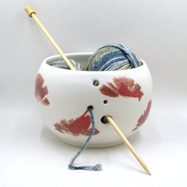 Μπολ νήματος TKC - κεραμικό χειροποίητο | The Knitting Club