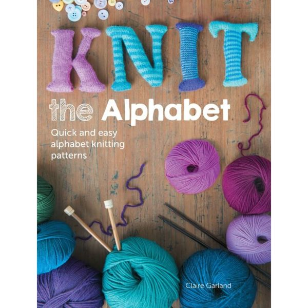 Knit the Alphabet, by Claire Garland | The Knitting Club