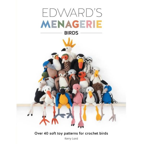 Edward's Menagerie Birds, by Kerry Lord | The Knitting Club