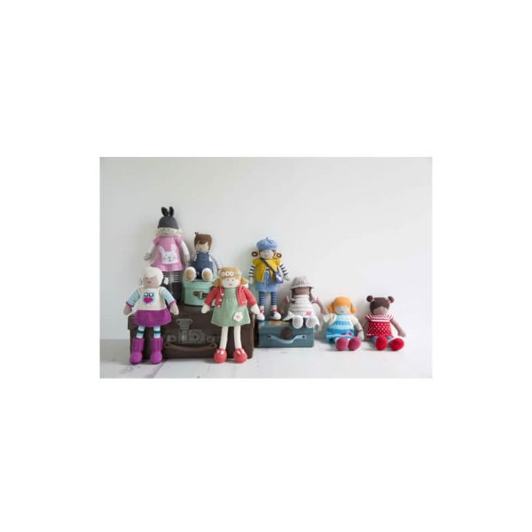 My Knitted Doll, by Louise Crowther | The Knitting Club