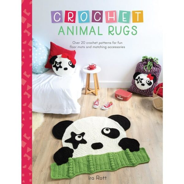 Crochet Animal Rugs, της Ira Rott | The Knitting Club