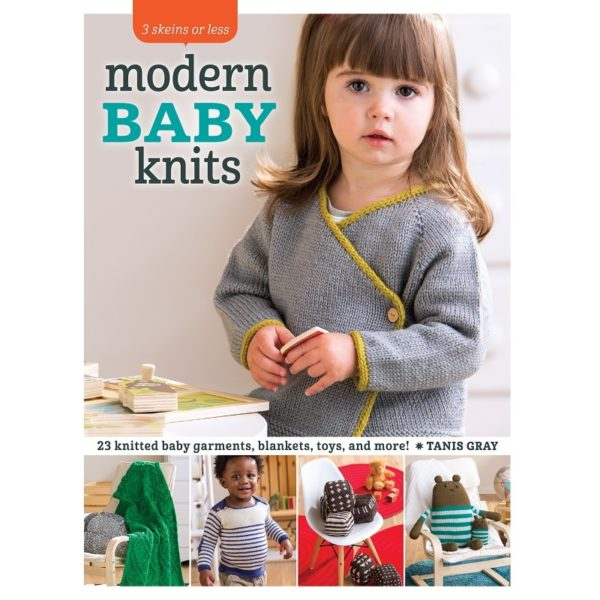 3 Skeins or Less - Modern Baby Knits, της Tanis Gray | The Knitting Club